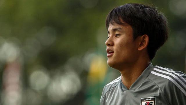 18-летний японец Кубо, из-за которого «Барселона» получила трансферный бан, перешел в «Реал»