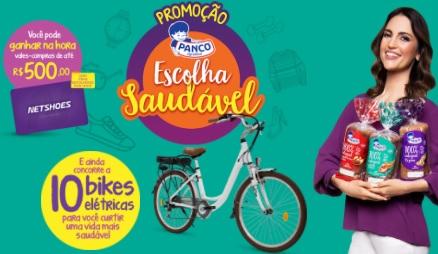 Cadastrar Promoção Escolha Saudável Panco 2020 - Bikes Elétricas e Vales-Compras 500 Reais