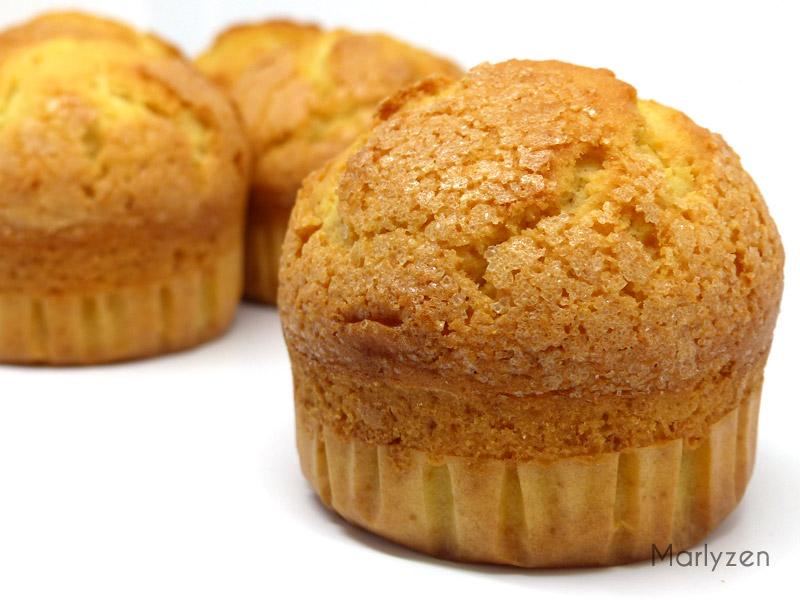 Magdalenas au citron (madeleines espagnoles)