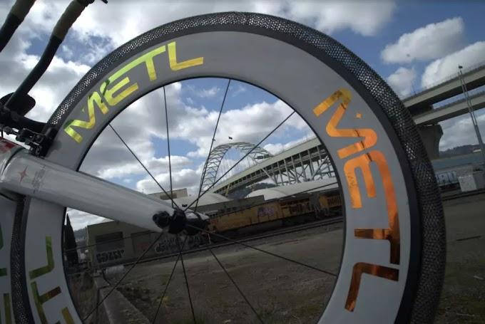 Los neumáticos de bicicleta de metal sin aire inspirados en la NASA prometen nunca explotar