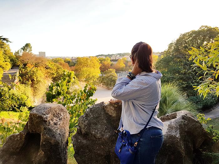 Jardins de la Fontaine Nîmes et Look Automne 03