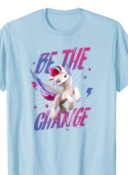 My Little Pony: A New Generation Zipp Be The Change T-Shirt