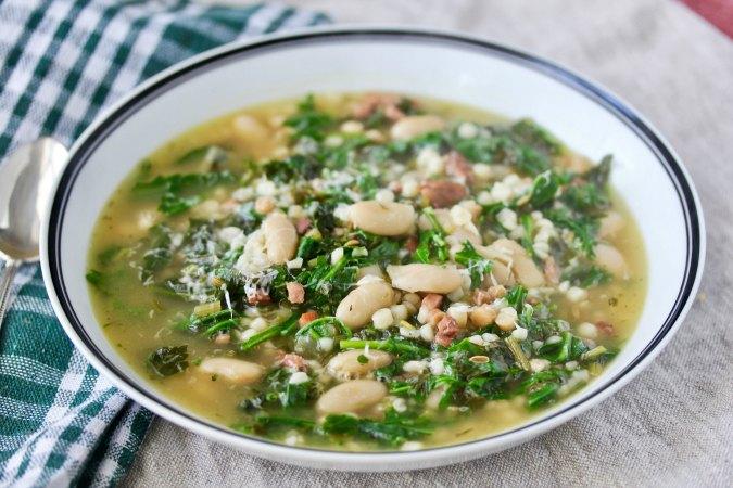 Sardinian Herb Soup