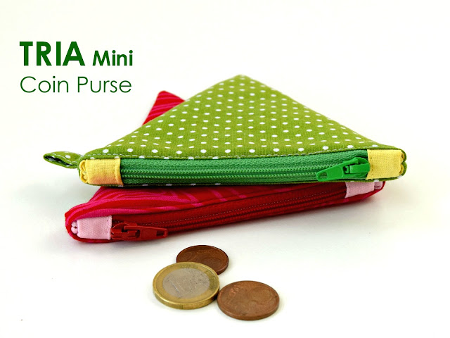 coin purse - easy PDF sewing pattern