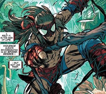 Versión de Spiderman de Spider Geddon