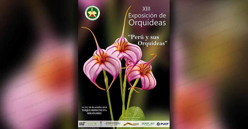 XIII Exposición Internacional de Orquídeas «Perú y sus Orquídeas» (18 - 19 y 20 Octubre) Club Peruano de Orquídeas - www.peruorchids.com