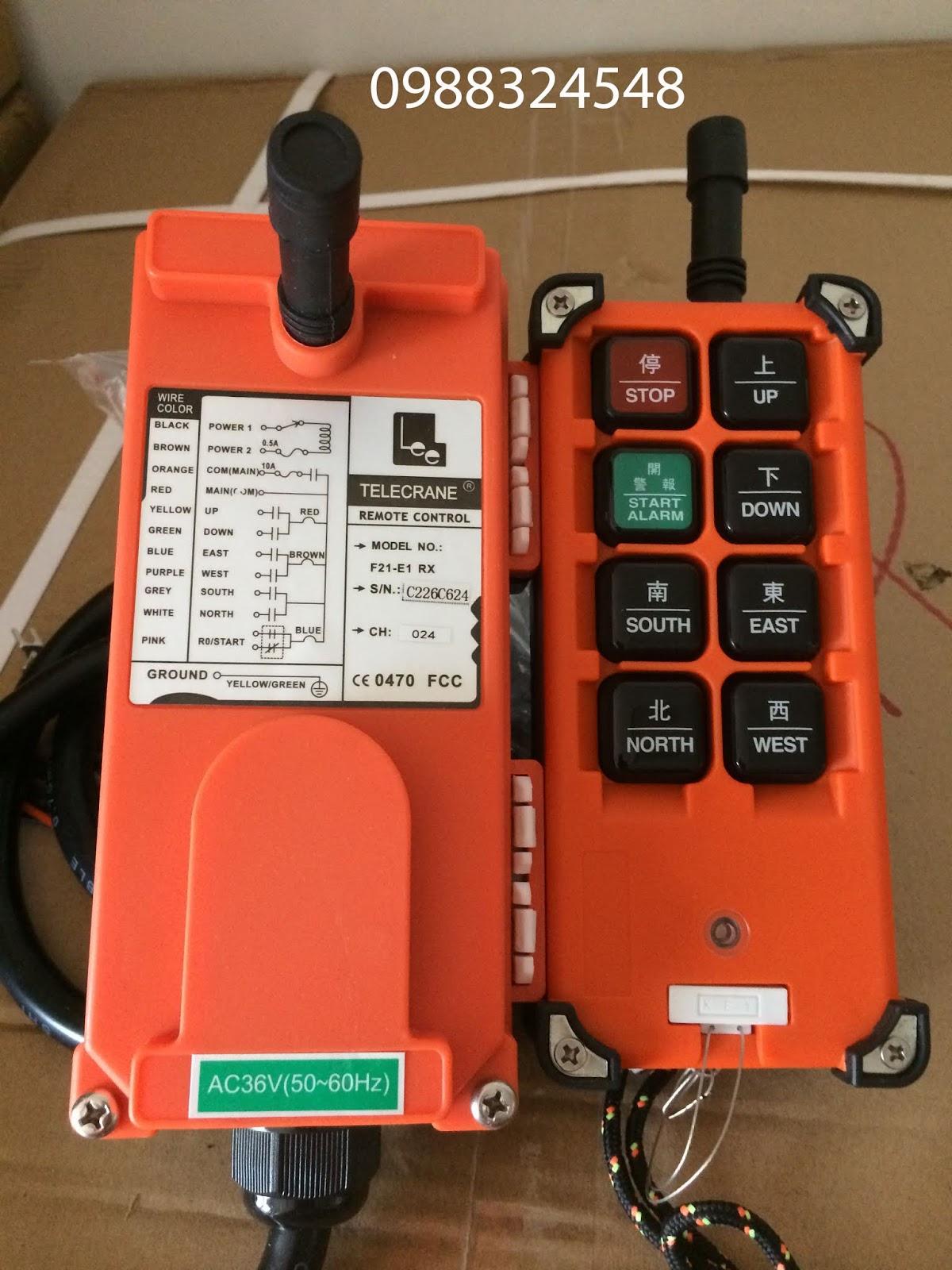 Bộ điều khiển từ xa F21-E1B