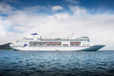 Artists Rendering of the Cruise and Maritime Voyages Newly Acquired Columbus.