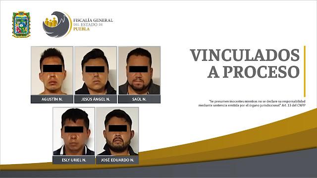 Fiscalía Puebla desarticuló a presunta banda delictiva en Izúcar