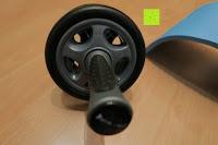 Seite: KYLIN SPORT Bauchtrainer Ab Roller Bauchmuskeltrainer Dual Wheel Ab-Wheel mit Knie Pad