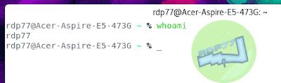 Mengenal Whoami Dalam Linux