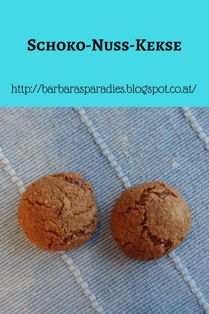 Weihnachtskekse: Schoko-Nuss-Kekse