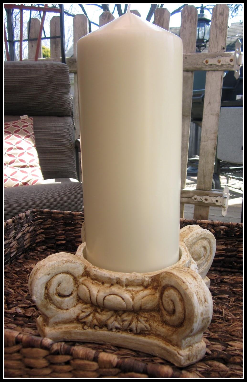 Large Pillar Candle Holder Homeroad