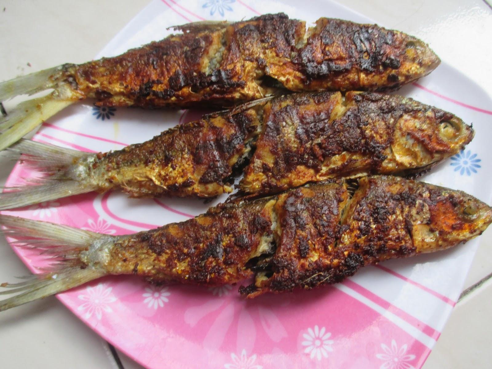 Ikan Bandeng Bakar Bumbu Kuning Ala Warung Padang ~ Dapur Onlineku