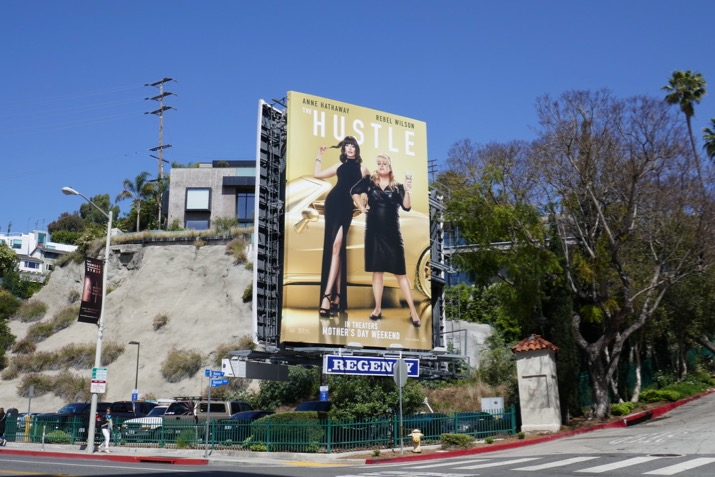 Hustle film billboard