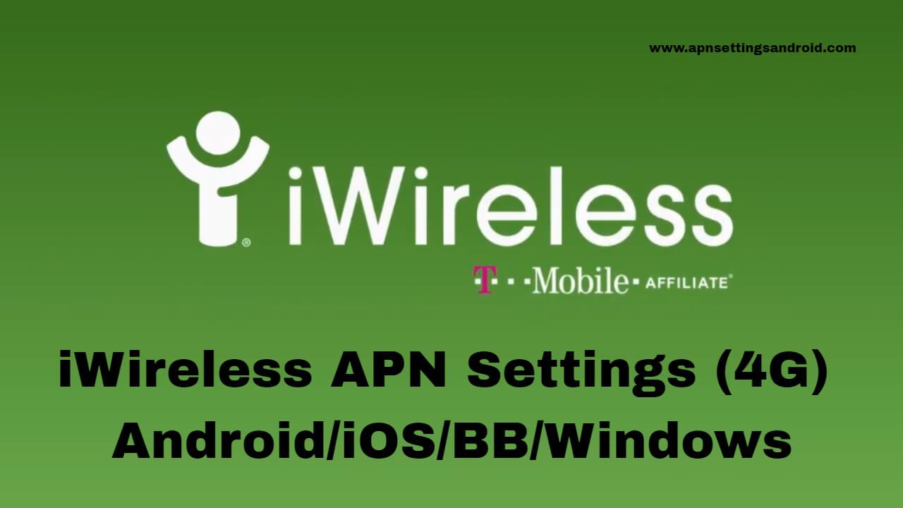 iWireless APN Settings
