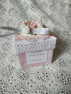 Box z okazji chrztu Lilianki od Mamy Chrzestnej