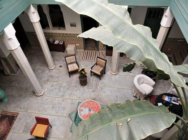 cortile riad azahar marrakech