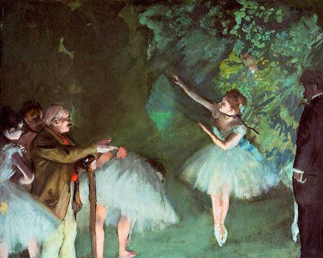 Эдгар Дега - Репетиция балета (1875)