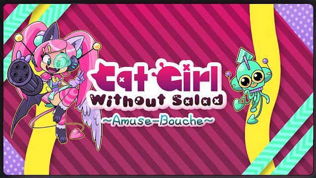 Análise: Cat Girl Without Salad: Amuse-Bouche (Switch): piadas e muita cor no espaço