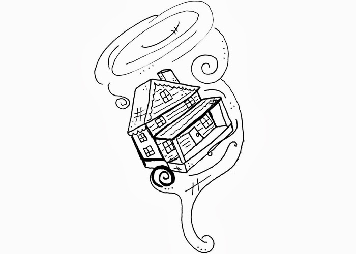 Wizard of Oz tornado coloring pages | Free Coloring Pages ...