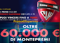 """GameStopZing Cup"" :  vinci gratis Gift card fino a 7000 euro + coupon da 10 euro come premio certo"