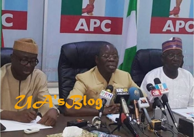 APC reacts to alleged detention of Oshiomhole by DSS over bribery