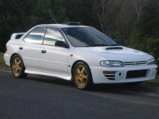 Subaru WRX STI Classic Japanese  Muscle Car