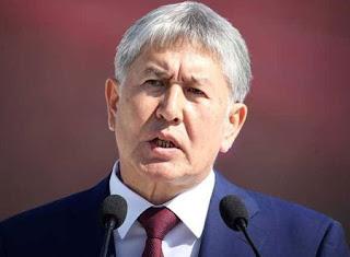 قوات قرغيزية خاصة تقتحم منزل الرئيس السابق أتامباييف