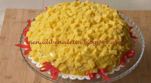 Torta Mimosa Ricetta Benedetta Rossi Da Fatto In Casa Per Voi
