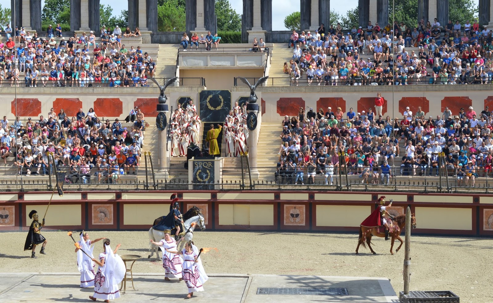 Puy du Fou Theme Park, France - Gladiator Stadium