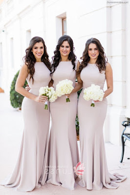 Vestidos de Damas de Honor Largos