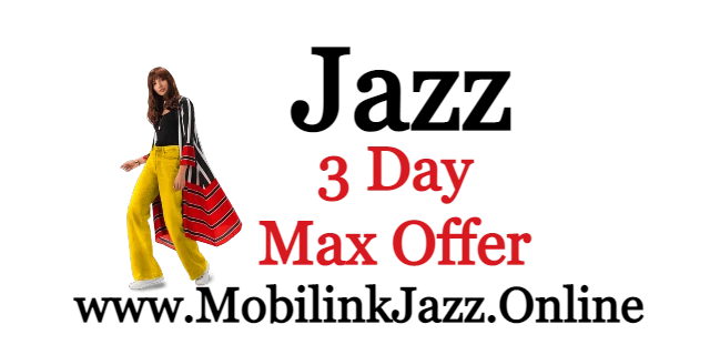 3 Day Max Offer Price and Detail Jazz Internet | 2021|