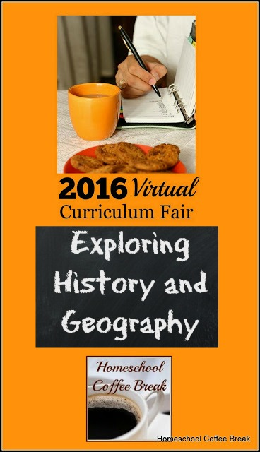 Exploring History and Geography (Virtual Curriculum Fair 2016) on Homeschool Coffee Break @ kympossibleblog.blogspot.com