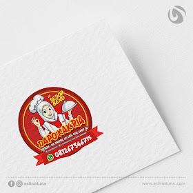 Desain Logo Dapo Kak Ria