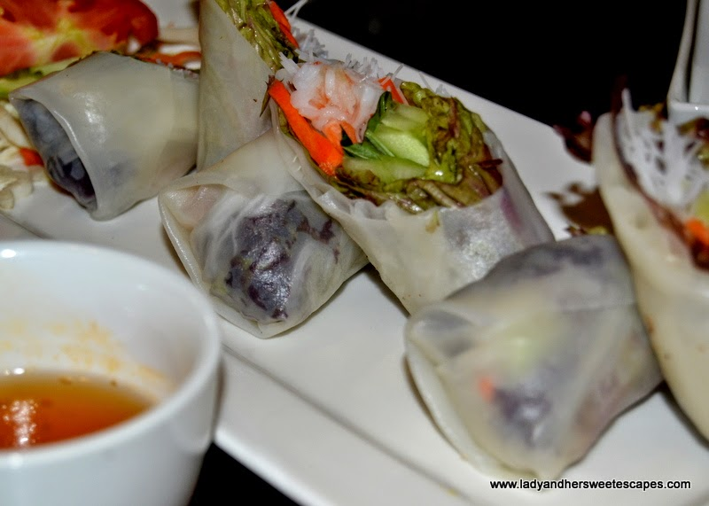 Chimes Fresh Vietnamese Style Rice Paper Rolls