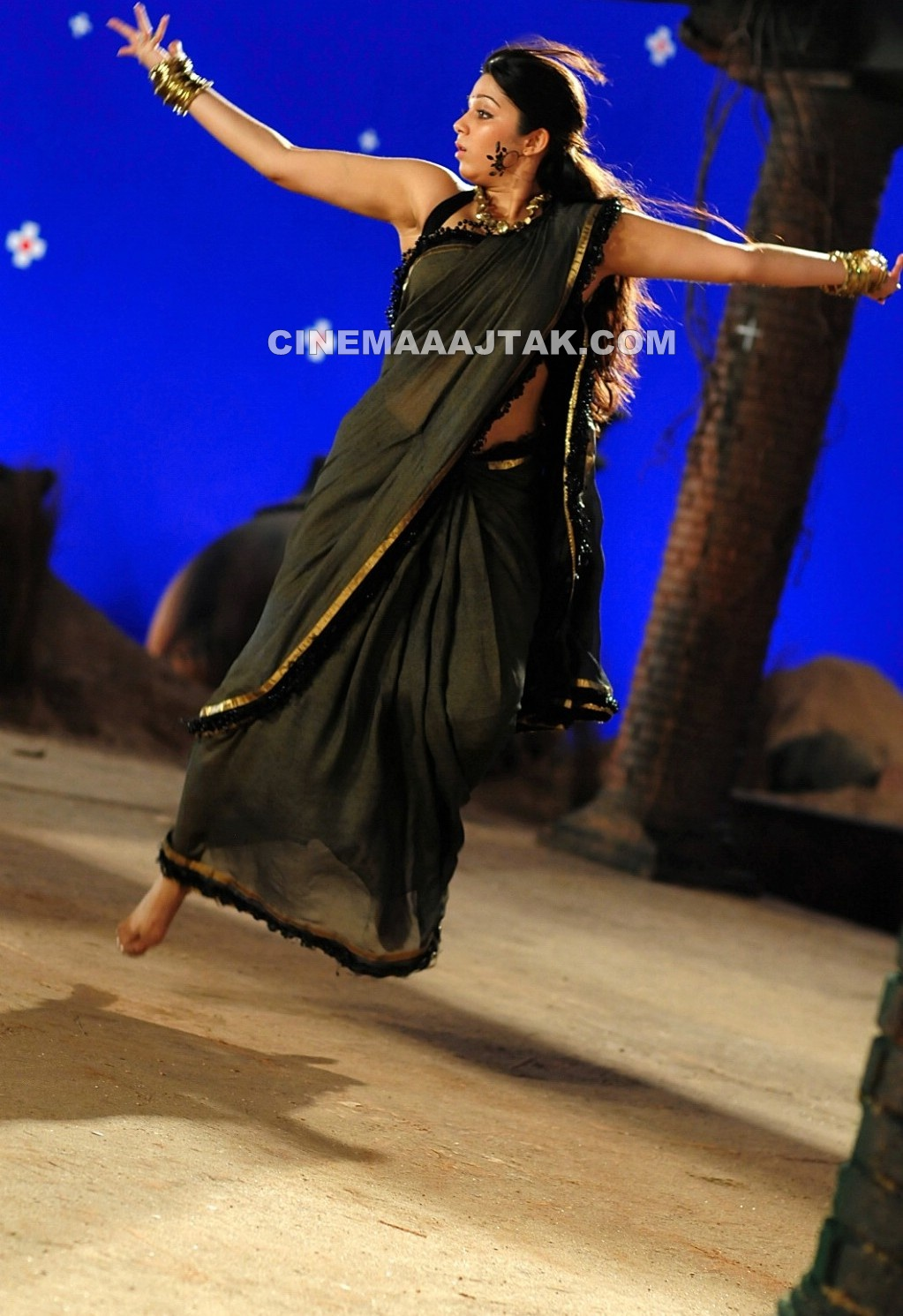 Charmi Kaur In New Sexy Saree Images  Jomblodotcom-6051