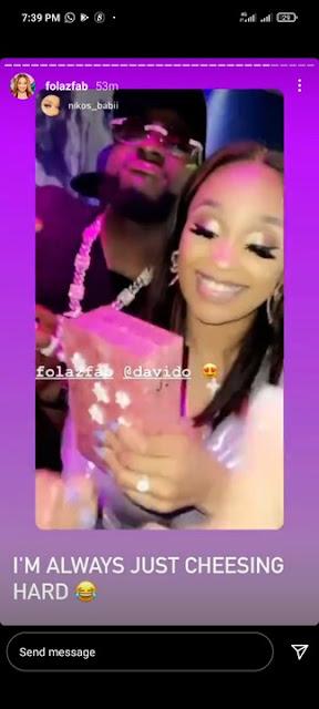 Davido Spoils His Cousin, Adenike Adeleke With Money As he spends lavishly on her Birthday (Video)