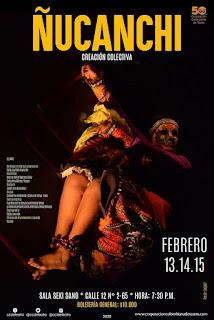 Obra ÑUCANCHI | Teatro Sala Seki Sano