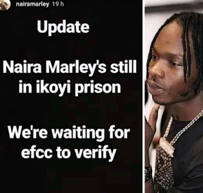 Bad News As EFCC Disregards Naira Marley's Granted Bail Court Order