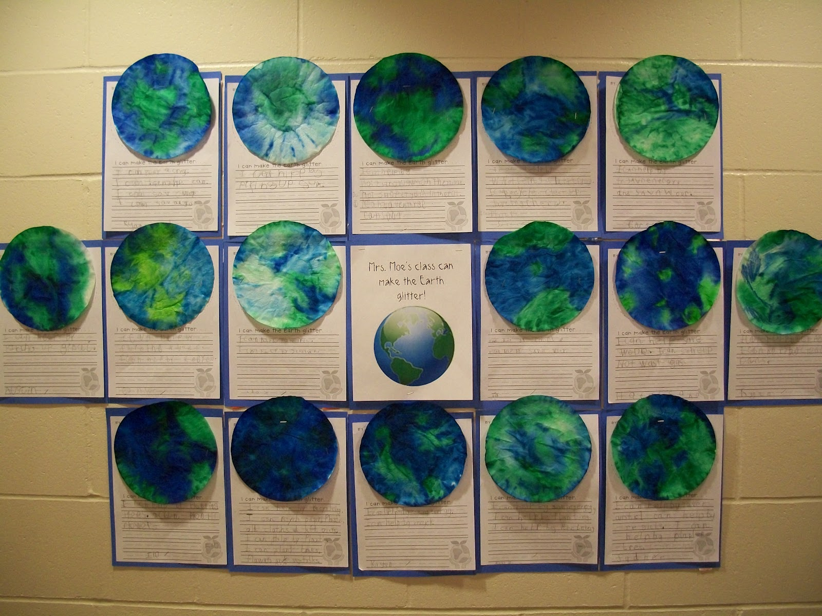 Mrs Moe S Kindergarten Earth Day