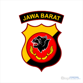 Polda Jawa Barat Logo vector (.cdr)