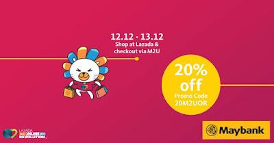 Maybank Malaysia Lazada Promo Code Discount