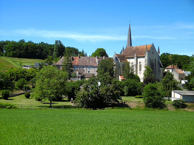 Saint Sauveur. Vienne. France. Photographed by Susan Walter. Tour the Loire Valley with a classic car and a private guide.
