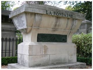Photo de la tombe de Jean de la Fontaine