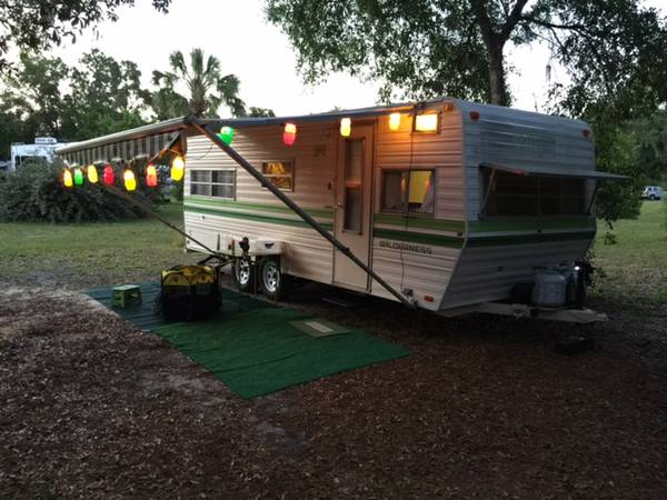 Vintage Travel Trailer for Sale