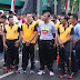 KAPOLRESTABES MEDAN HADIRI PANGGUNG PRAJURIT TNI POLRI DILAPANGAN BENTENG MEDAN