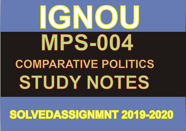 MPS 004 Study Notes