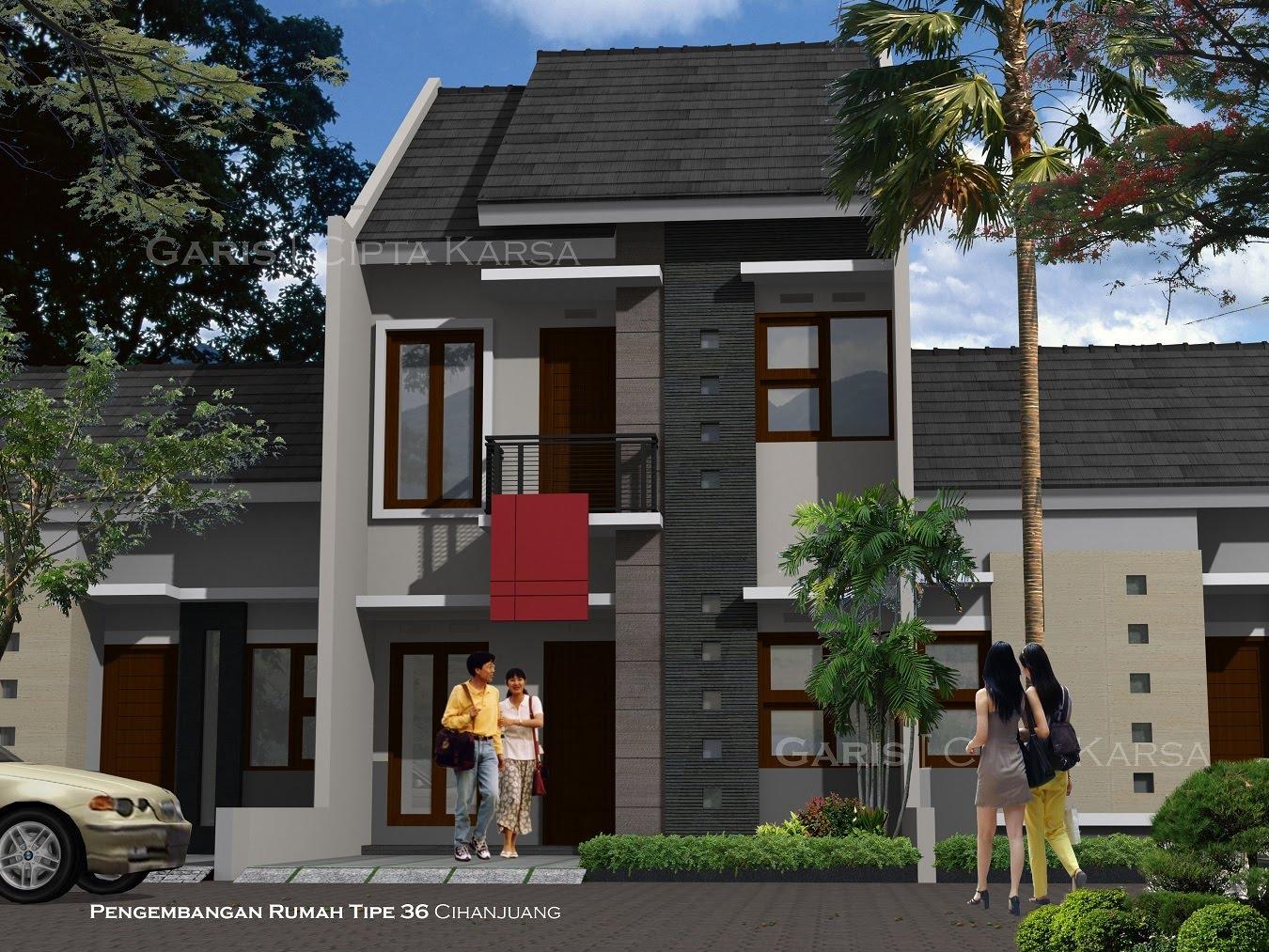 37+ Desain Rumah Sederhana 2 Lantai Type 21