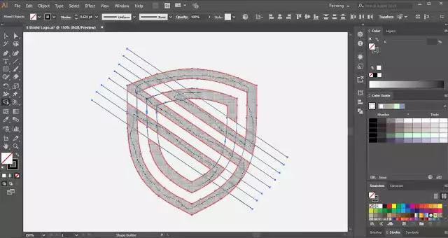Shield-Logo-tutorial
